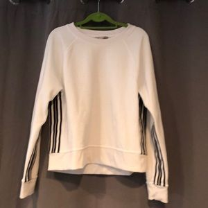 Athleta Sport Stripe Sweatshirt, Size M
